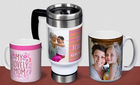 Custom Photo Mug or Travel Mug from York Photo