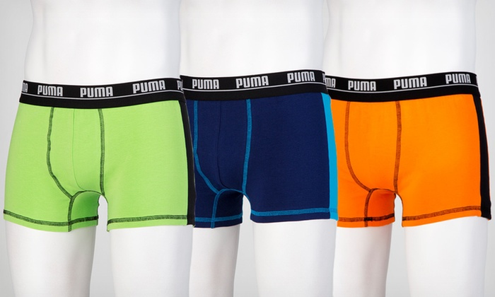 Two-Pack of Puma Men's Boxers: $12.99 for a Two-Pack of Puma Men's Boxers ($32 List Price). Multiple Sizes and Colors Available.