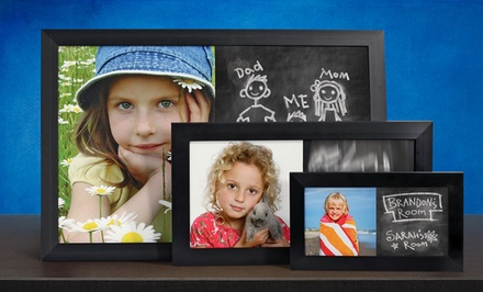 Custom Photo Chalkboards from PhotoChalkBoards.com (Up to 75% Off). Three Options Available.
