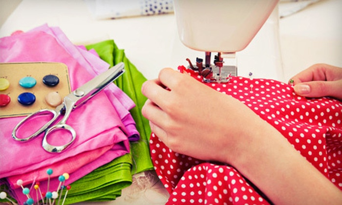 The FuzzyLightbulb Studio - Troy: Three-Hour Custom Sewing Boot Camp for One, Two, or Four at The FuzzyLightbulb Studio in Troy (Up to 58% Off)