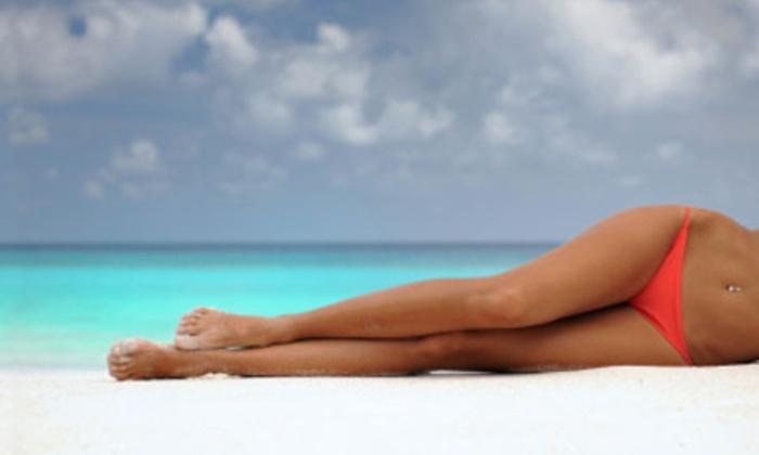 Glam Envy Lash & Beauty - Studio City: Up to 60% Off Airbrush Spray Tans at Glam Envy Lash & Beauty