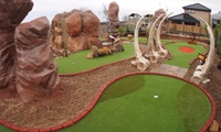 Family Ticket to Jurassic Golf at Golf Attractions (Up to 50% Off)