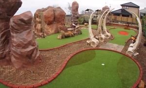 Golf Attractions: Family Ticket to Jurassic Golf at Golf Attractions (Up to 50% Off)