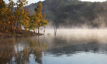 groupon daily deal - 2-Night Stay for Up to 10 in a Cabin, Lodge, or House at White Wing Resort in Branson, MO. Combine Up to 4 Nights.