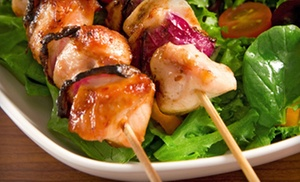 The Park House: $12 for a Mediterranean Dinner for Two at The Park House (Up to $27 Value)