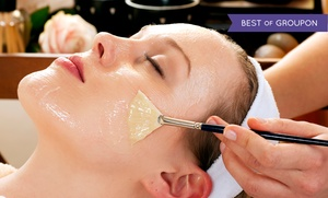 Pure Skin Salon and Spa: Pure European Facial or Microdermabrasion Facial at Pure Skin Salon and Spa (Up to 55% Off)