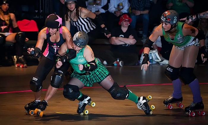 Minnesota RollerGirls - Roy Wilkins Auditorium: One, Two, or Four Tickets to a Minnesota RollerGirls Bout at Roy Wilkins Auditorium on 10/18 or 12/13 (Up to 68% Off)
