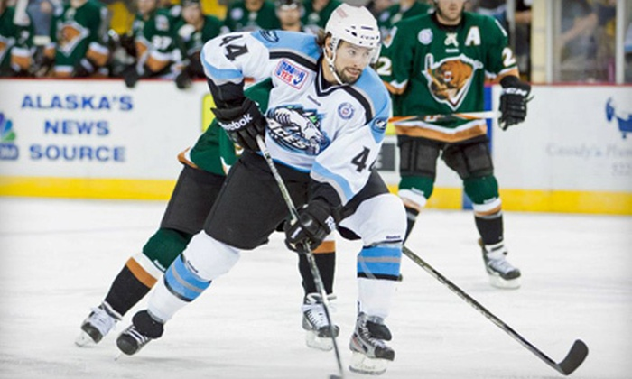 Alaska Aces - Game played at George M Sullivan Sports Arena: Alaska Aces Hockey Game at Sullivan Arena for Two or Four (Up to 59% Off)