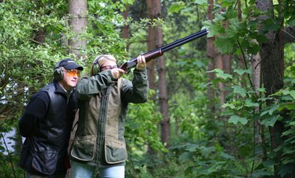 Clay Pigeon Shooting with 25 Shots and Membership for Up to Five at Manchester Clay Shooting Club (Up to 82% Off)