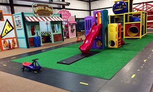 Giggles and Fun: Two Kids' Open-Play Visits or One Kids' Birthday Party at Giggles and Fun (Up to 36% Off)