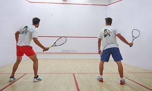 Squash4you: Godzina gry dla 2 osób w squasha za 34,99 zł i więcej opcji w Squash4You