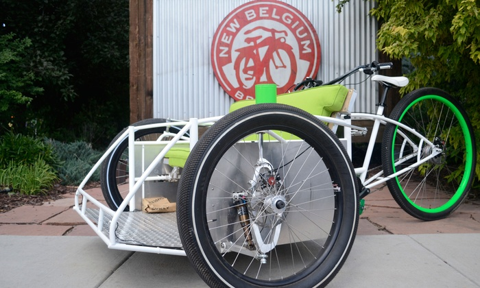 Tadpole Pedicabs - Fort Collins: Three-Hour Pedicab Ride to Three Breweries for Two or Four (50% Off)