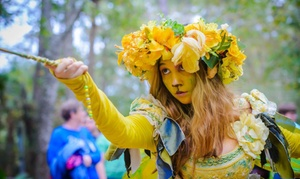 Up to 33% Off Admission to Texas Renaissance Festival at Texas Renaissance Festival, plus 6.0% Cash Back from Ebates.