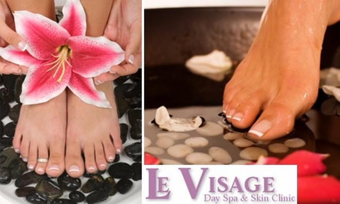 Le Visage Day Spa & Skin Care Clinic - Norman: $32 Mani-Pedi at Le Visage Day Spa and Skin Care Clinic