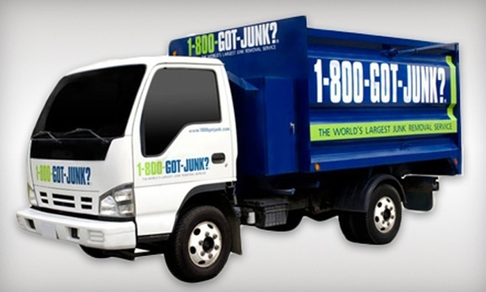 1-800-GOT-JUNK - Downtown: $100 for a Quarter of a Truckload of Junk Removal From 1-800-GOT-JUNK