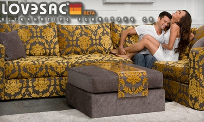 LoveSac - Central Omaha: $25 for $100 Worth of Alternative Furniture and Accessories at LoveSac