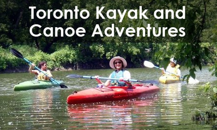 Toronto Kayak Adventures - Roncesvalles Village: $25 for an Intro to Kayaking Course and Two-Hour Trip from Toronto Kayak Adventures