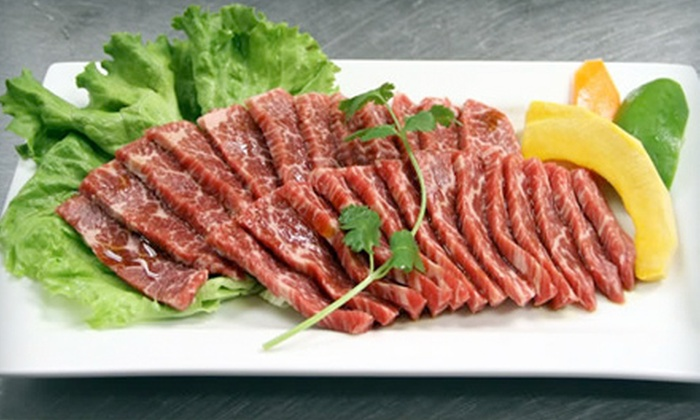 Yagyu Yakiniku - Paradise: $25 for $50 Worth of Japanese Barbecue and Drinks at Yagyu Yakiniku