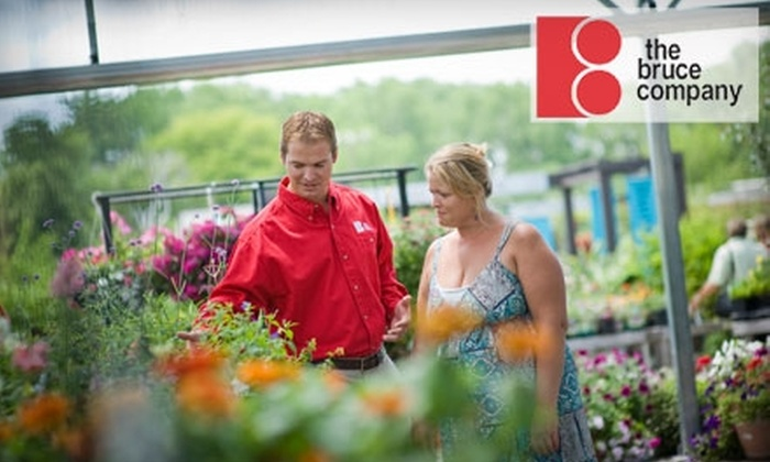 The Bruce Company Garden Center - Airport: $15 for $30 Worth of Plants and Supplies at The Bruce Company Garden Center