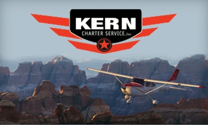 Kern Charter Service - Bakersfield: $50 for a Discovery Flight from Kern Charter Service ($100 Value)
