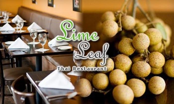 Lime Leaf Thai Restaurant - Windy Hill: $12 for $25 Worth of Thai Fare and Drinks at Lime Leaf Thai Restaurant