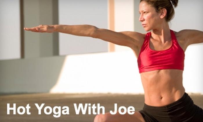 Hot Yoga With Joe - Perrysburg: $15 for Three Hot-Yoga Classes at Hot Yoga With Joe in Perrysburg ($45 Value)