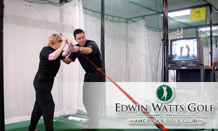 Edwin Watts Golf Academy - Deerwood Center: $25 for a One-Hour Private Golf Lesson at Edwin Watts Golf Academy ($49 Value)