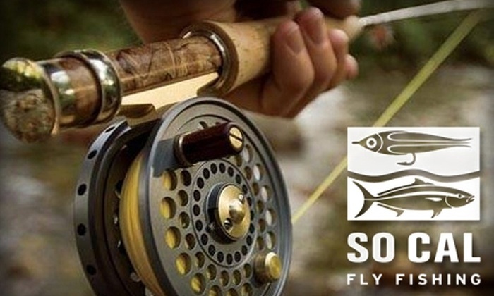 So Cal Fly Fishing Outfitters - Midway District: $40 for Two-Hour Introductory Fly Fishing Lesson at So Cal Fly Fishing Outfitters ($130 Value)