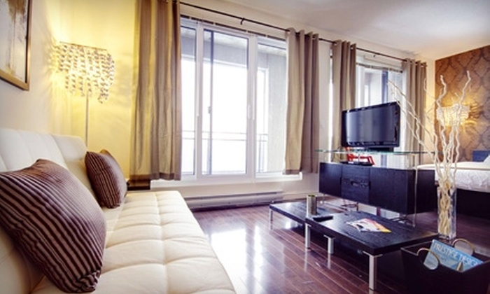 MontrealStays.com - Kingston / Belleville: $174 for a One-Night Montreal Vacation Package for Two with Spa Services and More from MontrealStays.com (Up to $500 Value)
