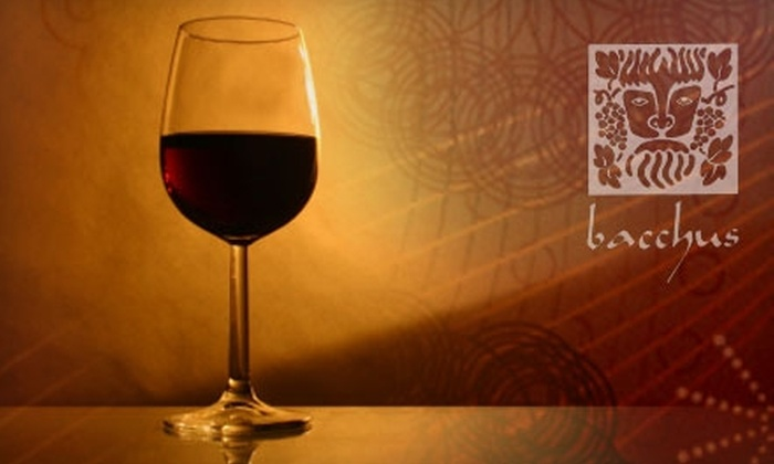 Bacchus - The Fan: $15 for $30 Worth of Italian Fare and Drink at Bacchus