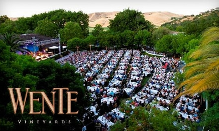 Wente Vineyards - Livermore-Pleasanton: Tickets to One of Five Upcoming Concerts (Chris Isaak, ZZ Top, and More) at Wente Vineyards in Livermore. Choose One of Two Seating Sections.