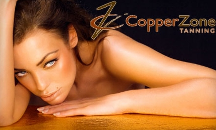 Copper Zone Tanning - Southern Park Mall: $10 for Three Spray Tans at Copper Zone Tanning ($50 Value)