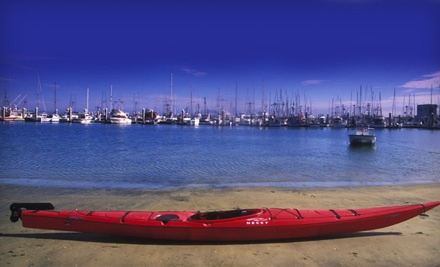 Good for Choice of 1-Hour Paddleboard or Single or Double Kayak Rental for 2 People - Half Moon Bay Kayak Company in Half Moon Bay