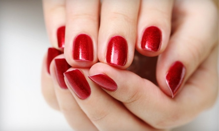 Nail Luxe - Lindenwood Park: Spa Deluxe Manicure with Paraffin or Acrylic Nails at Nail Luxe