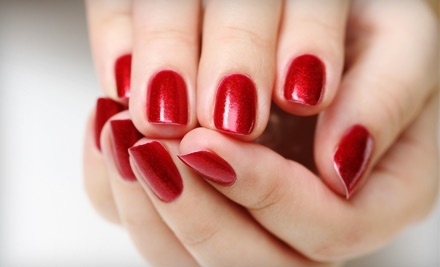 Nail Luxe: Full-Set Manicure with Acrylic Nails  - Nail Luxe in St. Louis