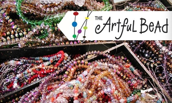 The Artful Bead - Multiple Locations: $10 for an Earring-Making Class at The Artful Bead ($20 Value)