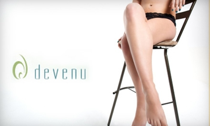 Devenu Rejuvenation Center - Central Omaha: $99 for Six Laser Hair-Removal Sessions for One Area from Devenu Rejuvenation Center (Up to $1,050 Value)
