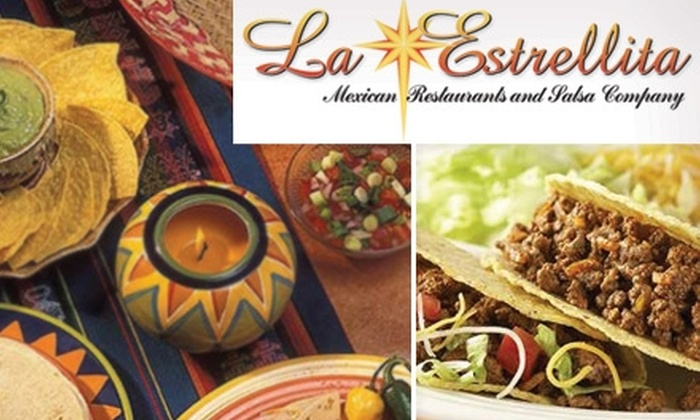 La Estrellita - Multiple Locations: $10 for $20 Worth of Traditional Mexican Fare at La Estrellita