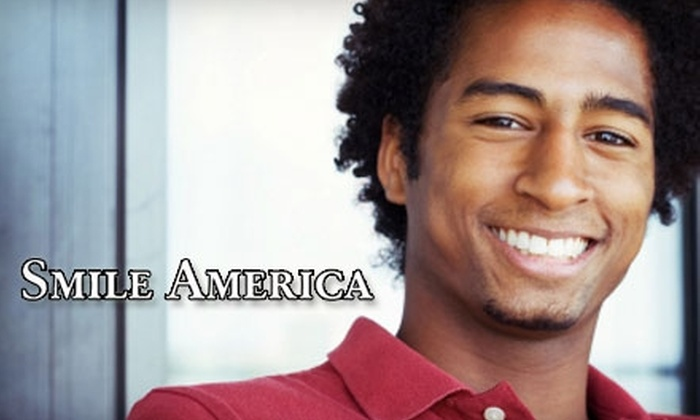 Smile America - Multiple Locations: $49 for One Basic Exam and Tray Molding Appointment for a Take-Home Teeth Whitening System from Smile America ($99 Value)