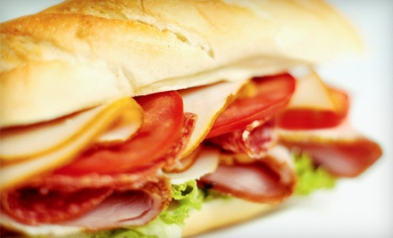 $16 Groupon to Rudy's Subs - Rudy's Subs in Monroeville