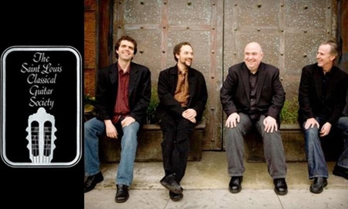 Los Angeles Guitar Quartet - University City: $12 for One Ticket to the Los Angeles Guitar Quartet on December 11 ($24 Value)