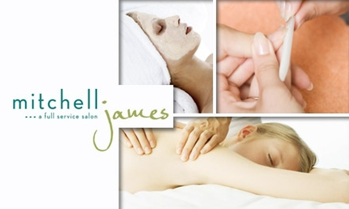 Mitchell James Salon - Richmond Heights: $50 for a Massage, Haircut, Manicure, and Facial at Mitchell James Salon ($129 Value)