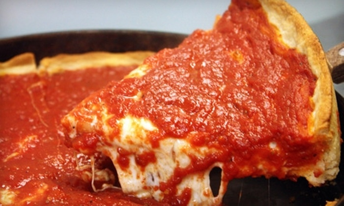 Georgio's Chicago Pizzeria and Pub - Multiple Locations: Pizza and More at Georgio's Chicago Pizzeria and Pub. Two Options Available.