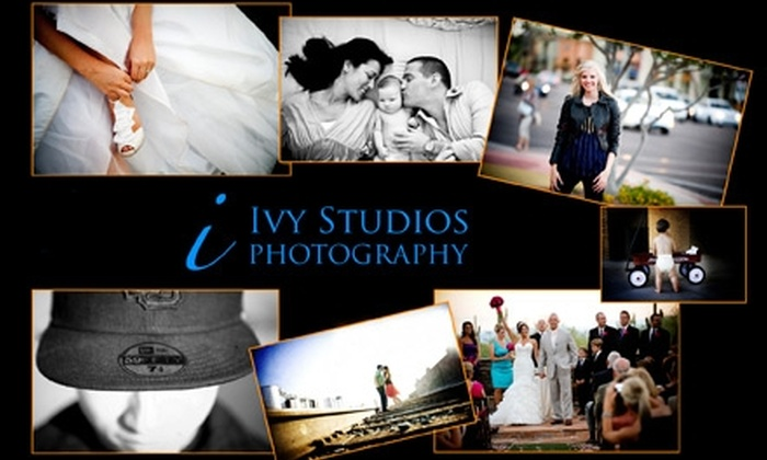 Ivy Studios Photography - Central City South: $68 for Custom Shoot On Location or Wedding Photography Credit ($449 Value) from Ivy Studios Photography in Gilbert