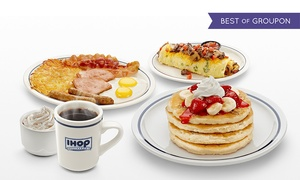IHOP: Breakfast, Lunch & Dinner Entrees at IHOP (Up to 45% Off). Four Options Available.
