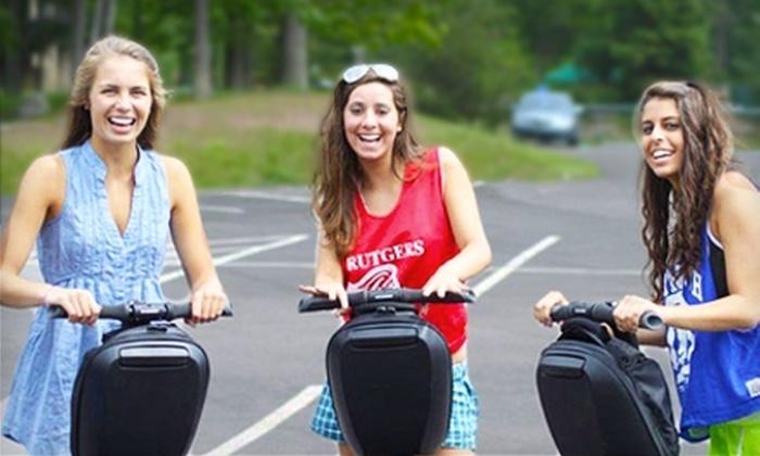 Pocono Segway Tours - Lake Harmony: $21 for a 75-Minute Segway Tour of Split Rock Resort from Pocono Segway Tours ($45 Value)