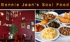 Bonnie Jean's Soul Food Cafe - Oak Park: $15 for $30 Worth of Delicious Soul Favorites at Bonnie Jean's Soul Food Cafe