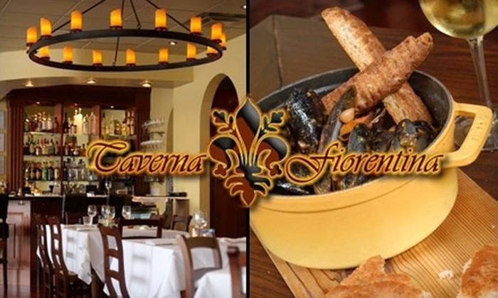 Taverna Fiorentina - Vinings: $20 for $45 Worth of Tuscan-Style Wining and Dining at Taverna Fiorentina