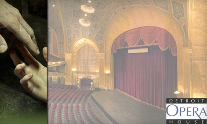 "Detroit Opera House - Downtown: Ticket to ""The Nutcracker"" or ""La Bohème"" at the Detroit Opera House (Up to $86 Value). Choose from Multiple Dates and Seating Options."