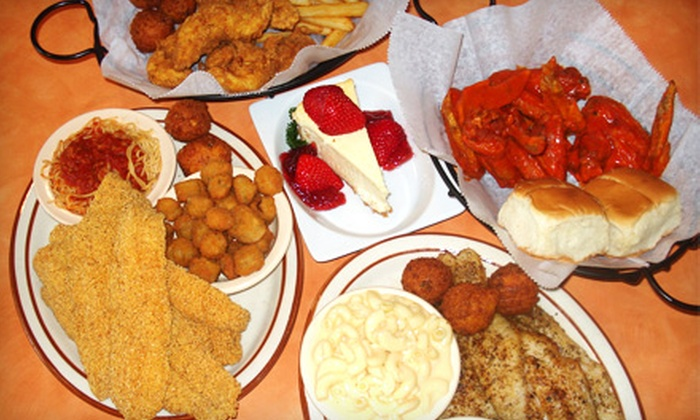Scales Café - Kirby Trace Neighborhood Association: $10 for $20 Worth of Catfish, Smoothies, and Southern Fare at Scales Café